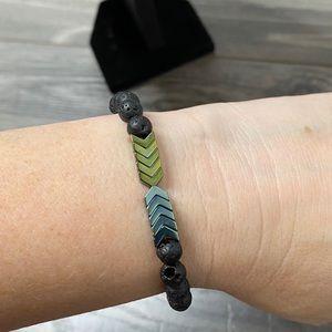 🌈 sacred arrow essential oil bracelet